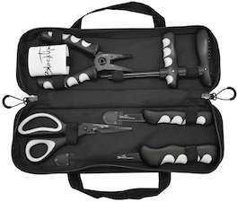 blacktip seven piece angler fishing kit