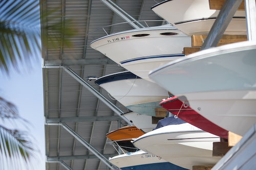boat storage for new owners