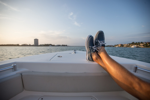 social distancing while boating