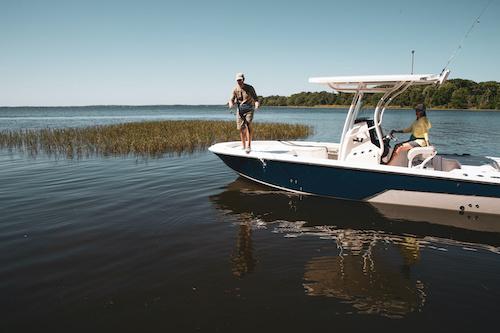 fishing on bay boats