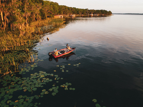 freshwater fishing boat types