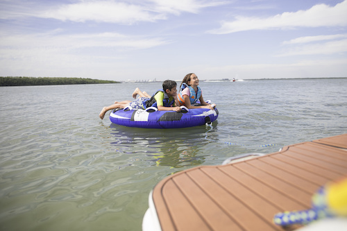 get active through boating
