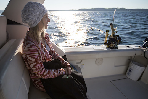 how to stay warm on a boat
