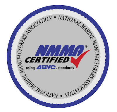 NMMA certified boats