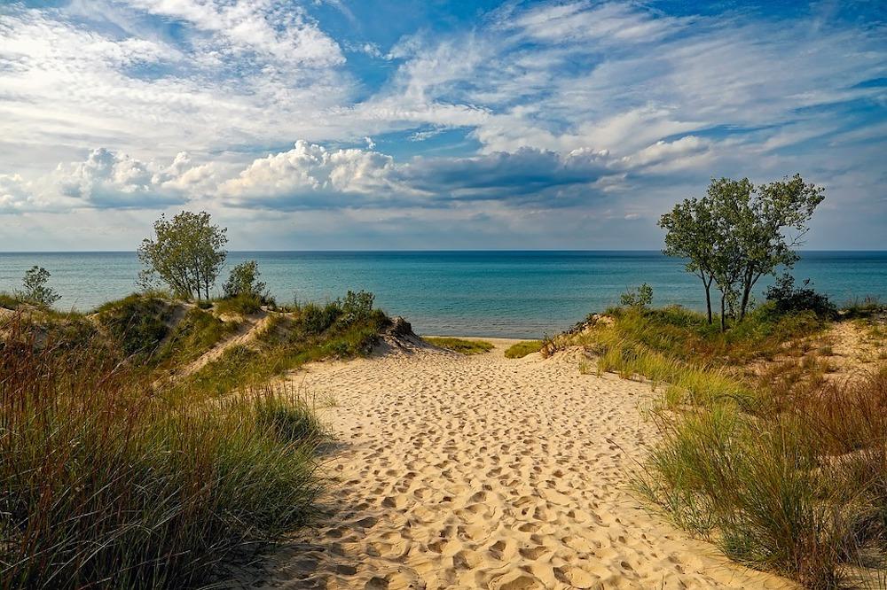 lake michigan indiana dunes state park