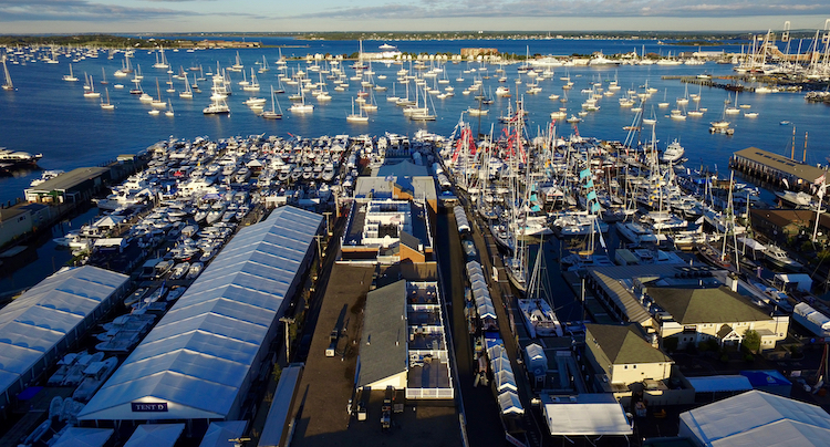 newport boat show preview