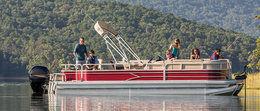best family boats pontoon