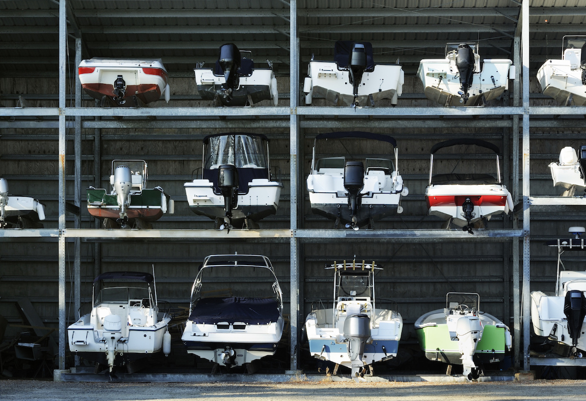 boat storage options