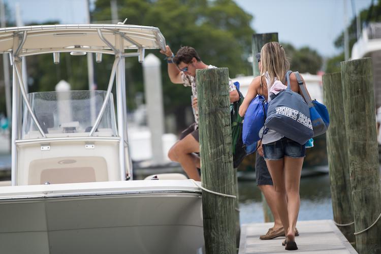 boat dock etiquette