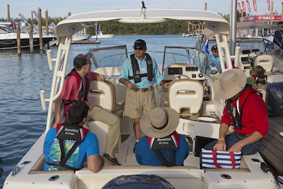 Boating safely in the water essay