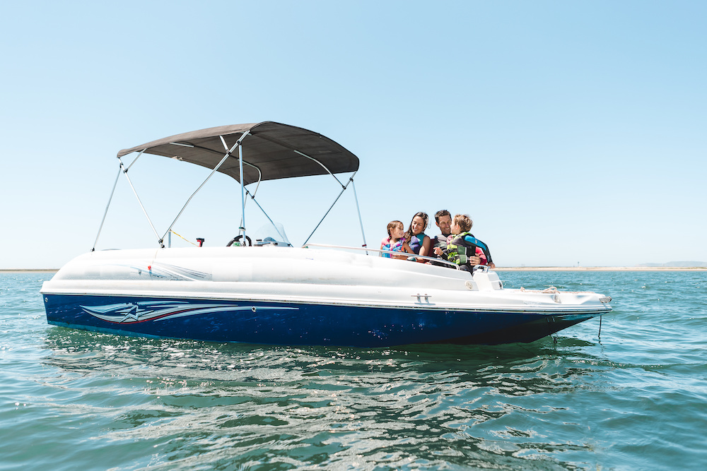 deck boats for family fun