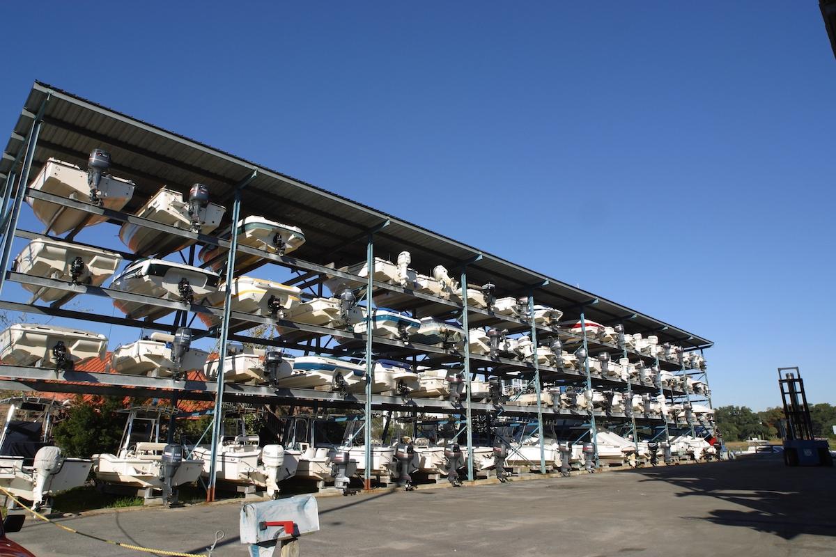 dry boat storage