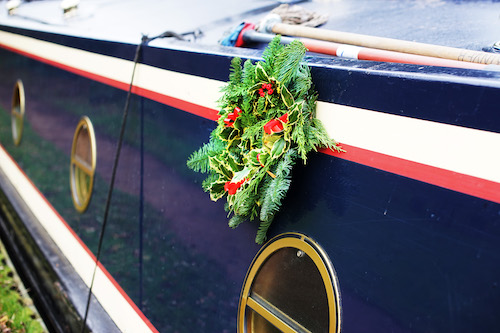 holiday entertaining on a boat