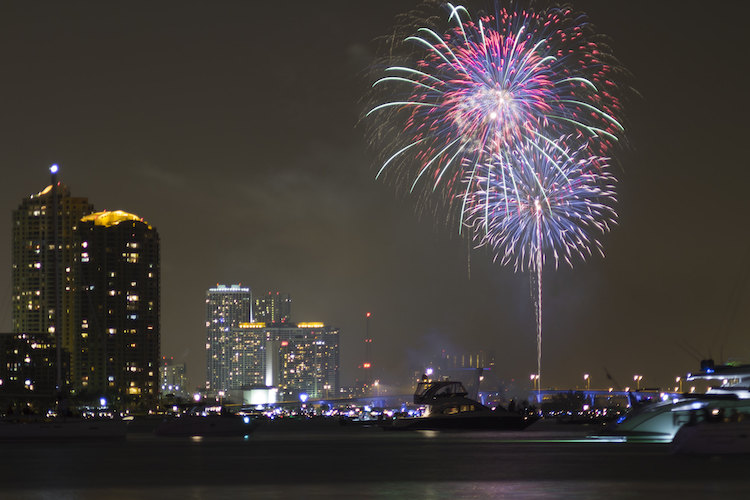miami fourth of july fireworks