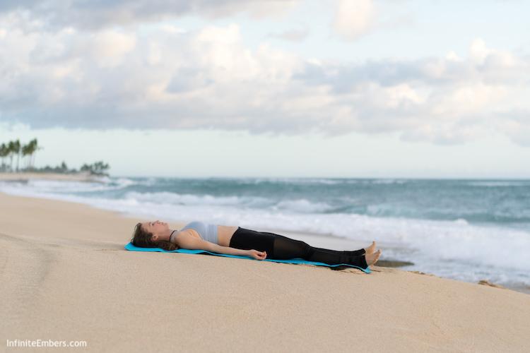 savasana boat yoga