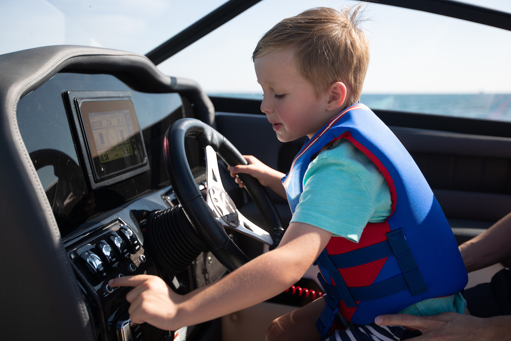 tips for boating with kids