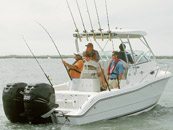 Saltwater Fishing Boat