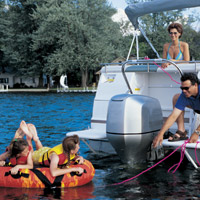 lib img newsletters websiteimages honda HondaBF225_Pontoon water tubing tips which tubes are best for your family? discover