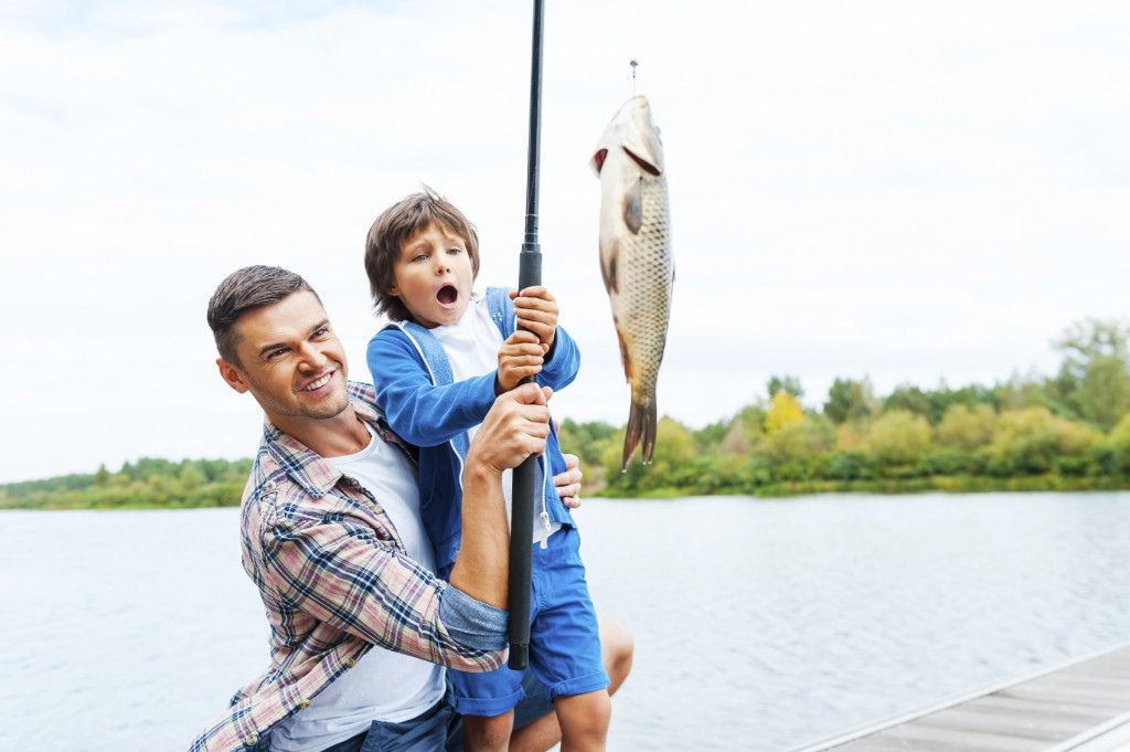teach your kids to fish