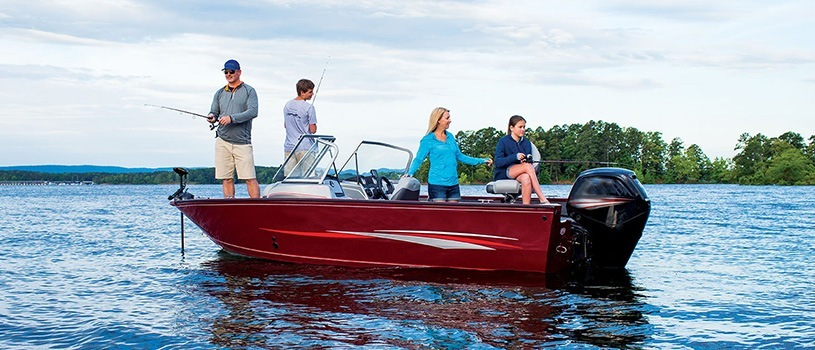 All purpose fishing boat discover boating for Fishing boat types