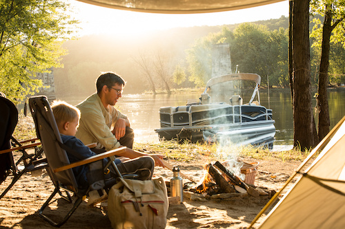 plan a boat camping trip
