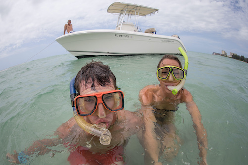 snorkeling boat tour business