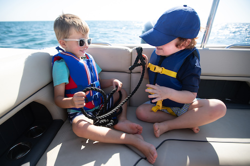 summer learning on a boat