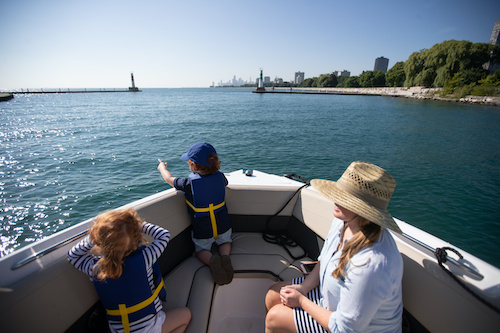 visit a new boating destination