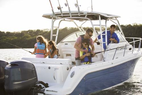 walkaround boat advantages