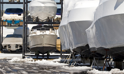 Winterizing A Boat: Tips for Winter Boat Storage
